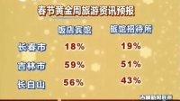 春节黄金周旅游春运资讯 110204 吉林新闻联播