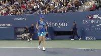 2010美国网球公开赛女单决赛 克里斯特尔斯VS兹沃娜列娃 (自制HL)