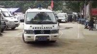 清川县来自内江的医疗救援队正准备下乡