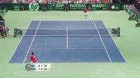 2011 Davis Cup 瑞士VS葡萄牙 费德勒VS马查多