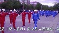 集贤县靓丽有氧健身操(僵尸舞)曲5《火苗》