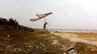 海边小坡试飞三角翼2
