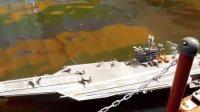 遙控 船 战艦 航空母舰 潛艇 (021) 海洋盒子遙控船主題樂園搖控船現場巡禮02