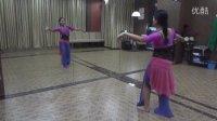 重庆【媚·婷】舞蹈——肚皮舞基础《上下八字胯及其变化》
