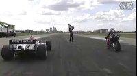 F1秒杀 MOTOGP赛车,直线加速