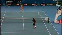 2008澳大利亚网球公开赛男单SF 纳达尔VS特松加 (自制HL)