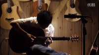 湖南长沙指弹吉他群友会12,钟子琪表演《幽灵公主》