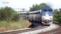 Amtrak  P42DC 通过弯道