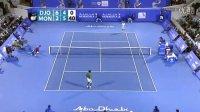 2012阿布扎比表演赛R1 德约科维奇VS孟菲尔斯