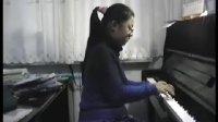 """钢琴曲  门德尔松《无词歌之""""民歌""""》Op.53 No.5  白千卉演奏"""