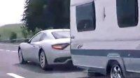 玛莎拉蒂GT也能拖房车