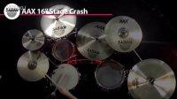 Sabian 镲片演示系列  四  高清 16_ AAX Stage Crash