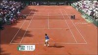 2011 Davis Cup 法国VS德国 孟菲尔斯VS科赫尔斯雷伯
