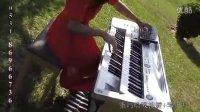三排键   双排键电子琴  弹唱   梦里水乡