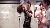 johnny老师电棒造型扎发4