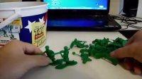 玩具总动员绿色小兵军队