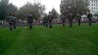 特种部队军体拳表演