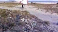 海边试飞三角翼