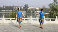 陕西西乡踏歌起舞广场舞《心中的歌儿献给金珠玛》