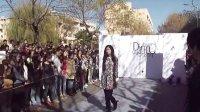 青岛大学2013年11月露天时装表演秀