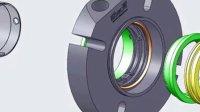 TSDC-C02 组装动画 机械密封 双端面密封