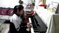 钢琴曲  《心旷神怡》与《船歌》王子萱演奏