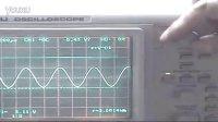 示波器光标法测电压