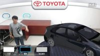 增强现实技术-2013年上海丰田车展-善达公关