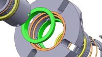 TSDC-A04 组装动画 机械密封 双端面密封 上海天示