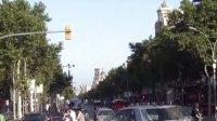 西班牙巴塞罗那风景 diagona街景全集  海上的风景线摄制