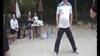 太极大师张鹏先生郑州正功花园讲解披身捶