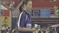 羽毛球比赛录像,2000年尤伯杯,葛菲-顾俊VS奥尔森-科奇加特