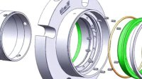 TSDC-B01 组装动画 机械密封 双端面密封