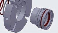 TSSC-J10 组装动画 机械密封 单端面密封 mechanical seal  上海天示