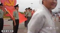 【拍客】实拍武警消防官兵天安门广场入党宣誓
