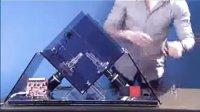 机器人10.69秒解开三阶魔方(Robot360.cn)