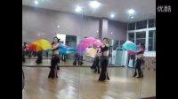 shahdana扇子舞完整的镜面排练视频