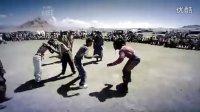 外国人挑战蒙古摔跤-5