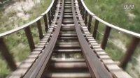 【720P高清晰】上海欢乐谷——谷木游龙木质过山车第一视角POV(稳固无振动版)