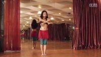 杜湘湘肚皮舞中级指钹舞分解教学视频《紫色回忆》,指钹跟肚皮舞的完美结合