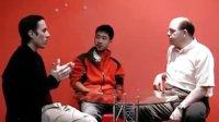 【大洋外语】大洋优秀学生陈鑫与美国教师Michael和Brian自由交流