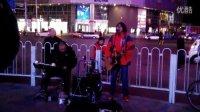 【拍客】天津街头—大冷天也能温暖人的歌声3(原创—在路上)