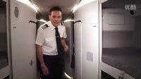 畅游英国航空旗舰A380飞机