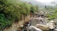 南郑汉山的河边