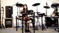 【2011上海乐展】川口千里演奏YAMAHA电鼓视频!