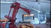 柯马机器人  建筑材料  搬运   码垛  自动化