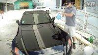国外科学洗车方式,需要中国人学习!