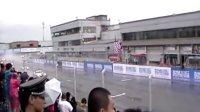 上午排位赛时的直线赛道