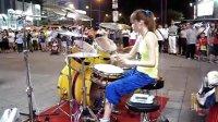 陳曼青爵士鼓- Baby小賈斯汀 Drum cover