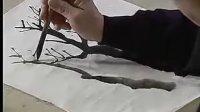 【山水画技法初级班 第一部】第二讲 枝干的画法